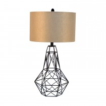 "30""H Metal Table Lamp"