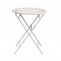White Metal Stamp Table