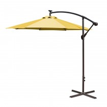 10FT Offset Solar Umbrella