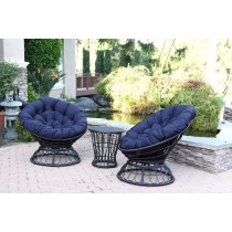 Midnight Blue Cushion for Papasan Swivel Chair