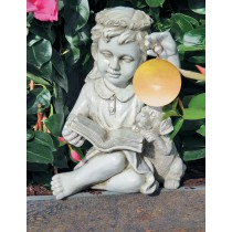 Girl Angel Hangs Solar Led Ball