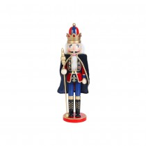 18 Inch  Nutcracker King with Cape