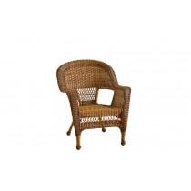 Honey Wicker Chair
