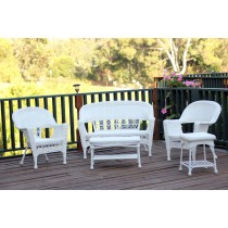 5pc Wicker Conversation Set Without Cushion
