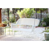 Resin Wicker Porch Swing
