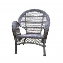 Santa Maria Espresso Wicker Chair