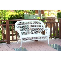 Santa Maria Wicker Patio Love Seat