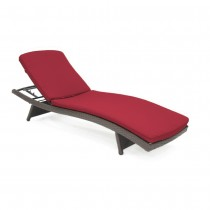 Red Chaise Lounger Cushion