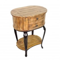 Heritage 2-Drawer Side Table