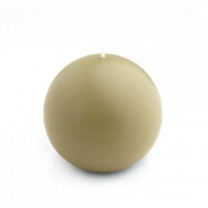 4 Inch Sage Green Ball Candles (2pc/Box)
