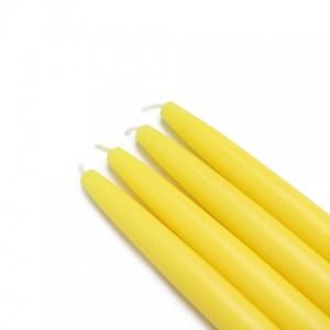 "6"" Yellow Taper Candles (1 Dozen)"