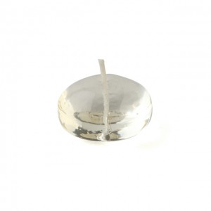 1.75 Inch Clear Gel Floating Candles (12pc/Box)