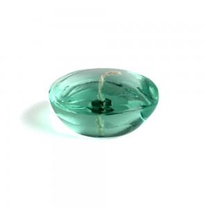 3 Inch Clear Aqua Gel Floating Candles (6pc/Box)