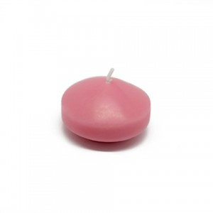"""1 3/4"""" Pink Floating Candles (24pc/Box)"""
