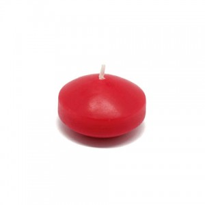"""1 3/4"""" Red Floating Candles (24pc/Box)"""