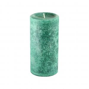 """3"""" x 6"""" Fresh Frasier Fir Green Scented Pillar Candle"""