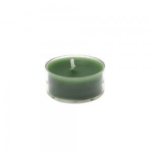 Hunter Green Tealight Candles (50pcs/Pack)