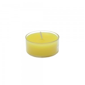 Yellow Citronella Tealight Candles (50pcs/Pack)
