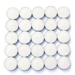 50 Vanilla Scented Tealight Candles