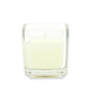 Ivory Square Glass Votive Candles (12pc/Box)