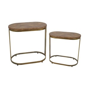 Antique Side Table (Set of 2)