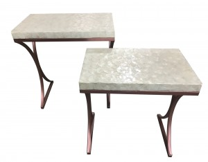 Doris Shell Table-Set of 2