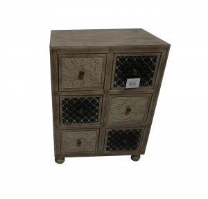 """30"""" Wooden Cabinet With 6 Drawer"""