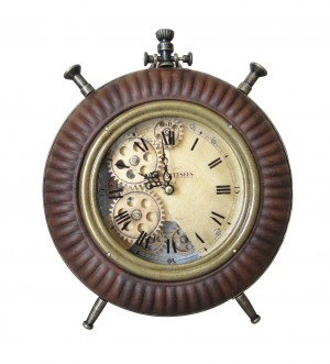 Brown Table Clock